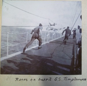 Races on board the SS Templemore