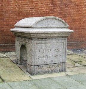 Christopher Cass' sarcophagus