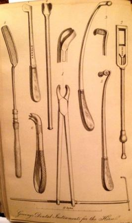 Thomas Gowing's dental instruments